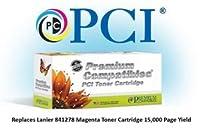 プレミアム互換機Inc。841278lnpc交換用インクとトナーカートリッジforラニエールプリンタ、マゼンタ