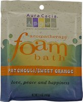 海外直送品Aromatherapy Foam Bath, Patchouli/Orange 2.5 oz by Aura Cacia
