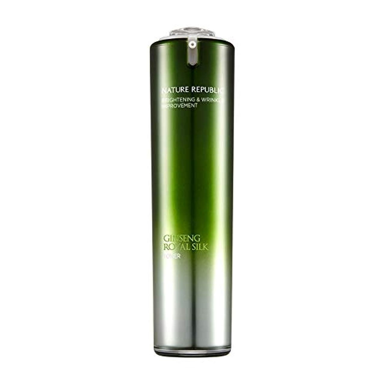 ネイチャーリパブリック(Nature Republic)ジンセンロイヤルシルクトナー 120ml / Ginseng Royal Silk Toner 120ml :: 韓国コスメ [並行輸入品]