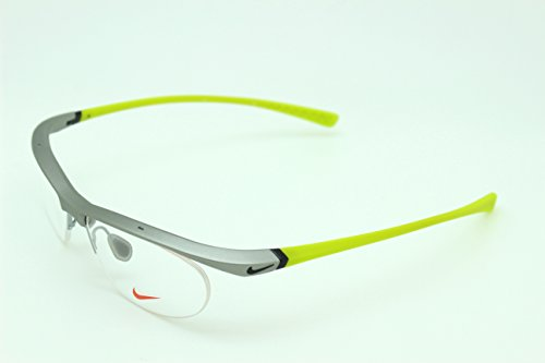 男性用 nike ナイキ パソコン用メガネ PCメガネ 7070 085 ブルーライトカット 紫外線カット 伊達メガネ 度無 透明レンズ アジアンフィット 加工済み 専用ケース付属