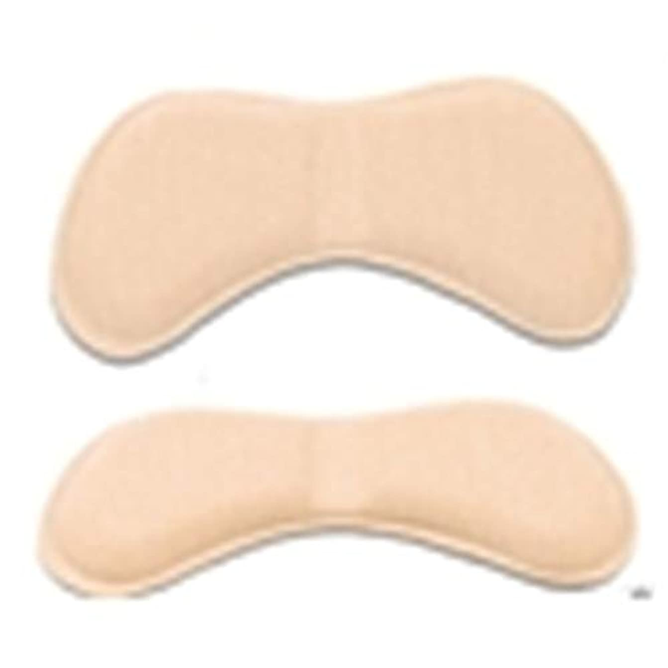 申し立て防ぐ第足裏保護パッド パカパカ防止 靴ずれ防止 かかとパッド 靴かかと保護パッド かかと半コードパッド 5ペア