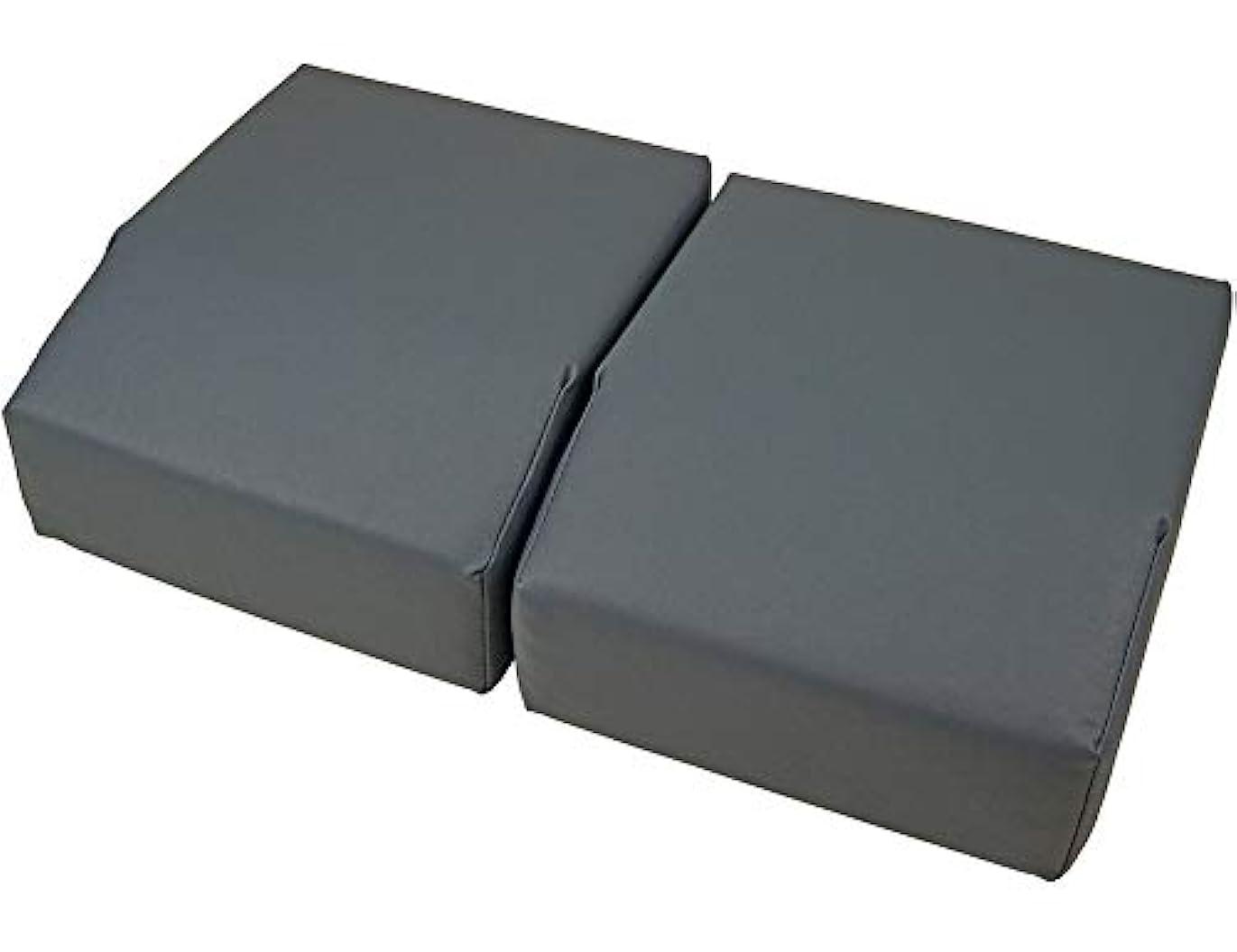小道しなやか企業足置きクッションボディークッション 用 オプション 足置き クッション ベルクロ で連結が可能