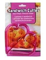 Sandwich cutter- Heart Shapes (ピンク) Crustカッター