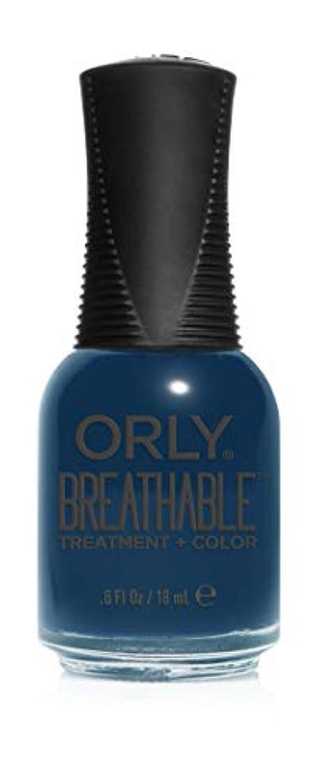 コミットメント性差別喜ぶOrly Breathable Treatment + Color Nail Lacquer - Good Karma - 0.6oz / 18ml
