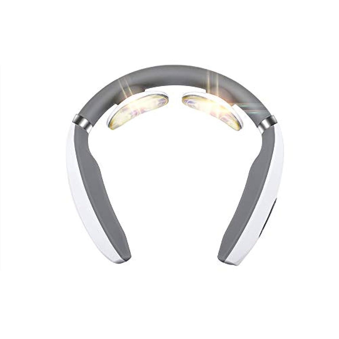 試みジョイントご飯首マッサージャー 正規品 マッサージ器 ネックマッサージャー 多機能 首のマッサージ器 usbで充電式 不眠症改善 家庭用&職場用&車用 ストレス解消グッズ 振動 温熱療法 疲労回復 頚椎ヘルニア 改善 マッサージモード調節可能 2019年最新版 3D頸椎マッサージャー 一年間質量保証
