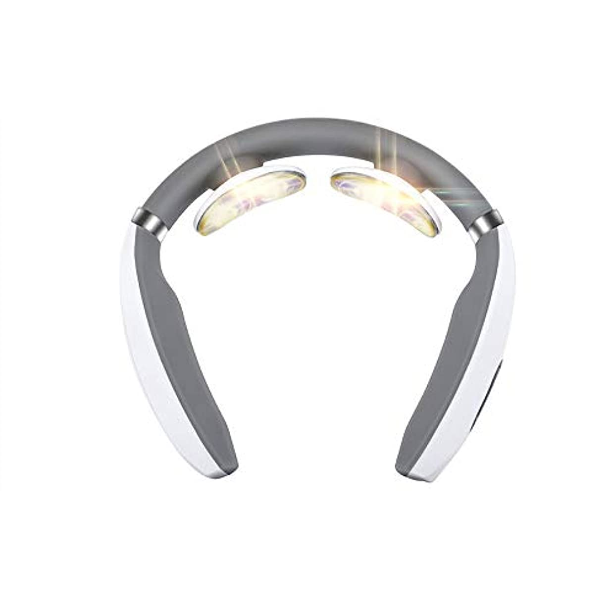 論争の的束ハンサム首マッサージャー 正規品 マッサージ器 ネックマッサージャー 多機能 首のマッサージ器 usbで充電式 不眠症改善 家庭用&職場用&車用 ストレス解消グッズ 振動 温熱療法 疲労回復 頚椎ヘルニア 改善 マッサージモード調節可能 2019年最新版 3D頸椎マッサージャー 一年間質量保証