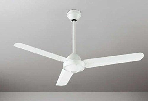 RoomClip商品情報 - 大風量 簡易取付 オーデリック ホワイト シーリングファン 【OIC-016】