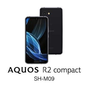 シャープ AQUOS R2 compact SH-M09(ピュアブラック)5.2インチ SIMフリースマートフォン[メモリ 4GB/ストレージ 64GB/IGZOディスプレイ] SH-M09-B