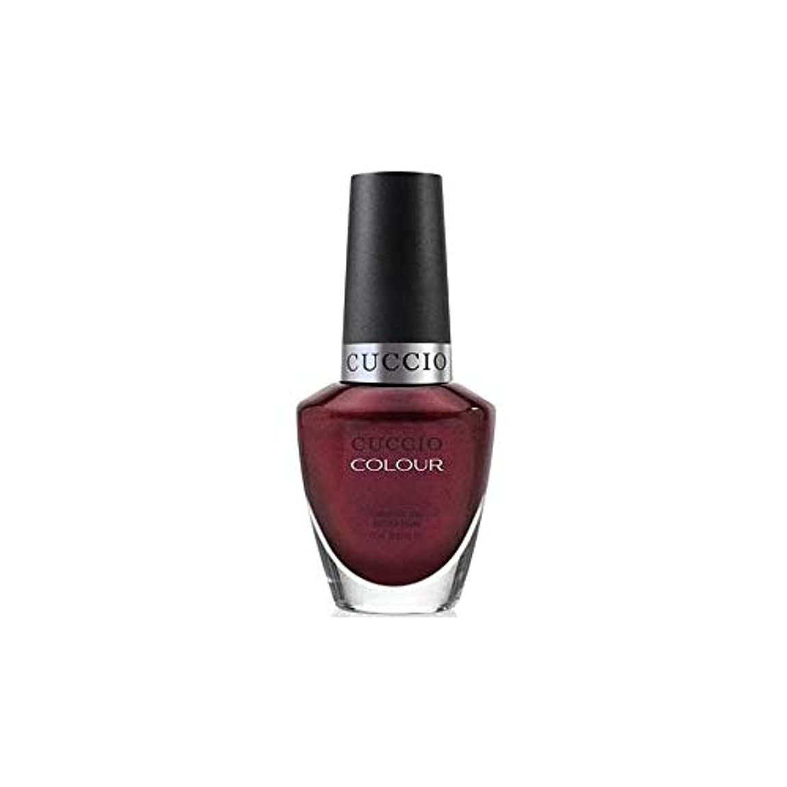 滑りやすい過度に小売Cuccio Colour Gloss Lacquer - Royal Flush - 0.43oz / 13ml