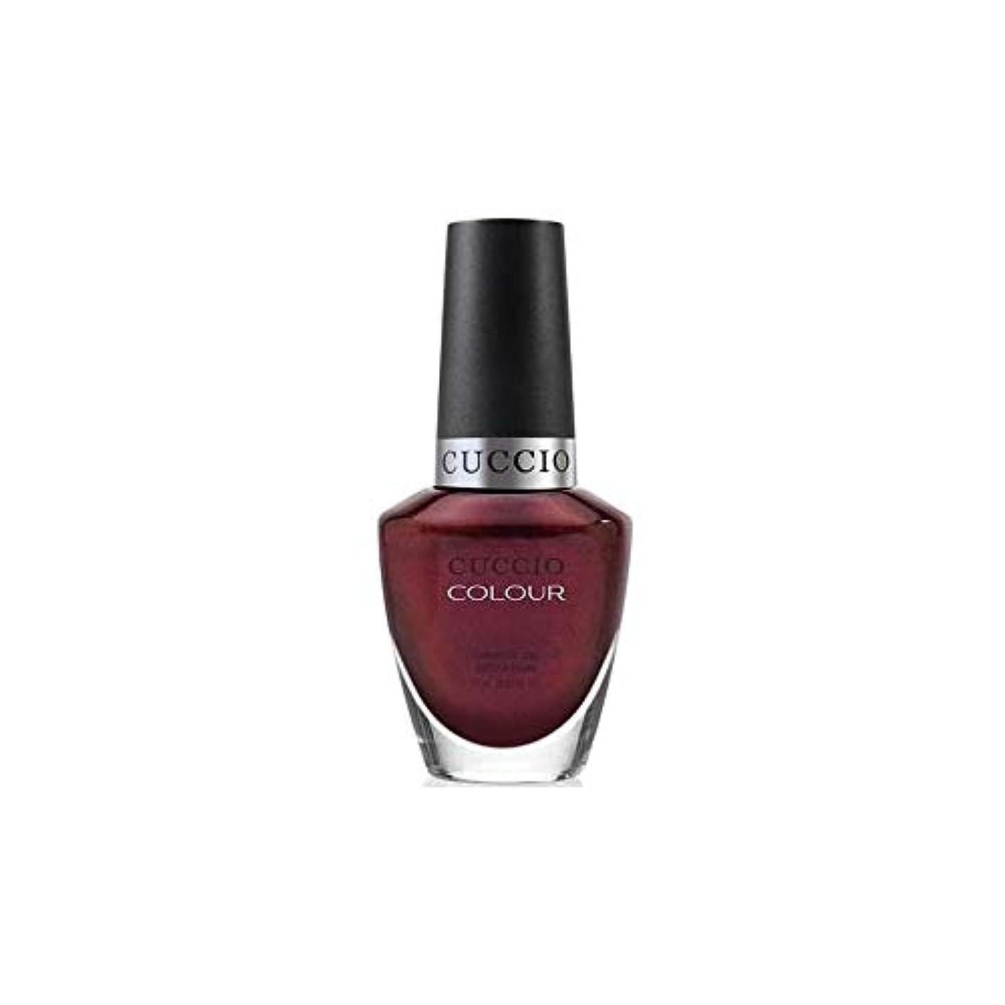 傾いたガイドライン債務Cuccio Colour Gloss Lacquer - Royal Flush - 0.43oz / 13ml
