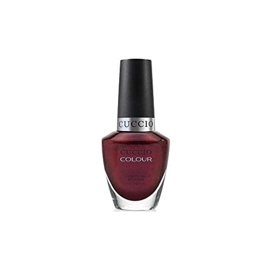 次肥沃なクッションCuccio Colour Gloss Lacquer - Royal Flush - 0.43oz / 13ml