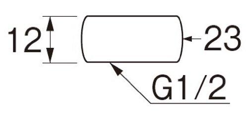 三栄水栓 不要な配管をふさぐキャップ キャップナット 呼び13 B41A-24-13