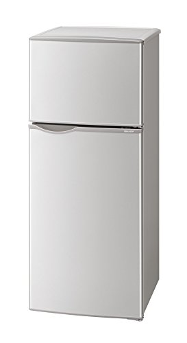シャープ 冷蔵庫 小型 2ドア 118L シルバー SJ-H12B-S