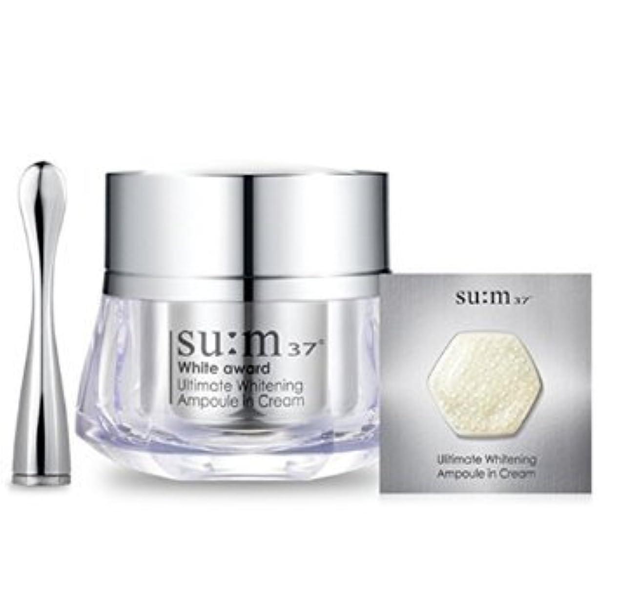 骨アーサーコナンドイル裁判官Korean Cosmetics_LG Su:m 37 White Award Ultimate Whitening Ampoule in Cream_45g[行輸入品]