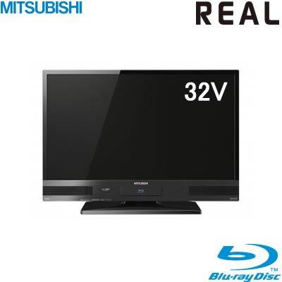三菱電機 32V型 ハイビジョン 液晶テレビ HDD 500GB ブルーレイレコーダー搭載 REAL LCD-32BW6
