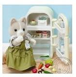 シルバニア UK オークル犬 お母さん冷蔵庫 セット