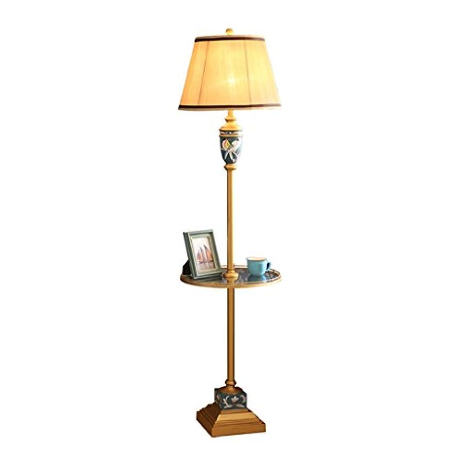 頬そばにコメンテーターWjvnbah フロアスタンド?ランプ フロアランプリビングルームシンプルなレトロなテーブルコーヒーテーブルヨーロッパ手描きのクリエイティブファッションベッドルームベッドサイドテーブルランプ
