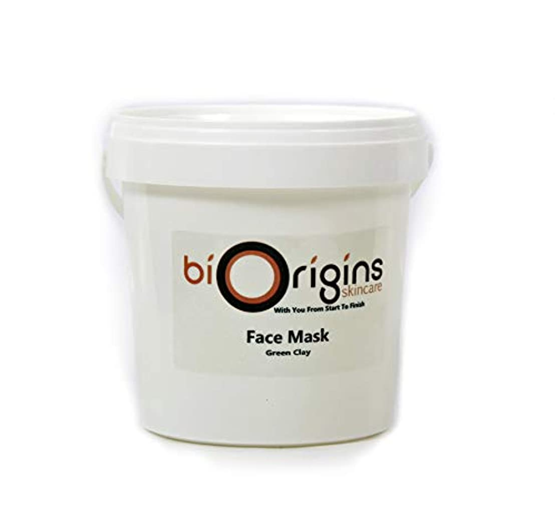 ステージ飾り羽最もFace Mask - Green Clay - Botanical Skincare Base - 1Kg