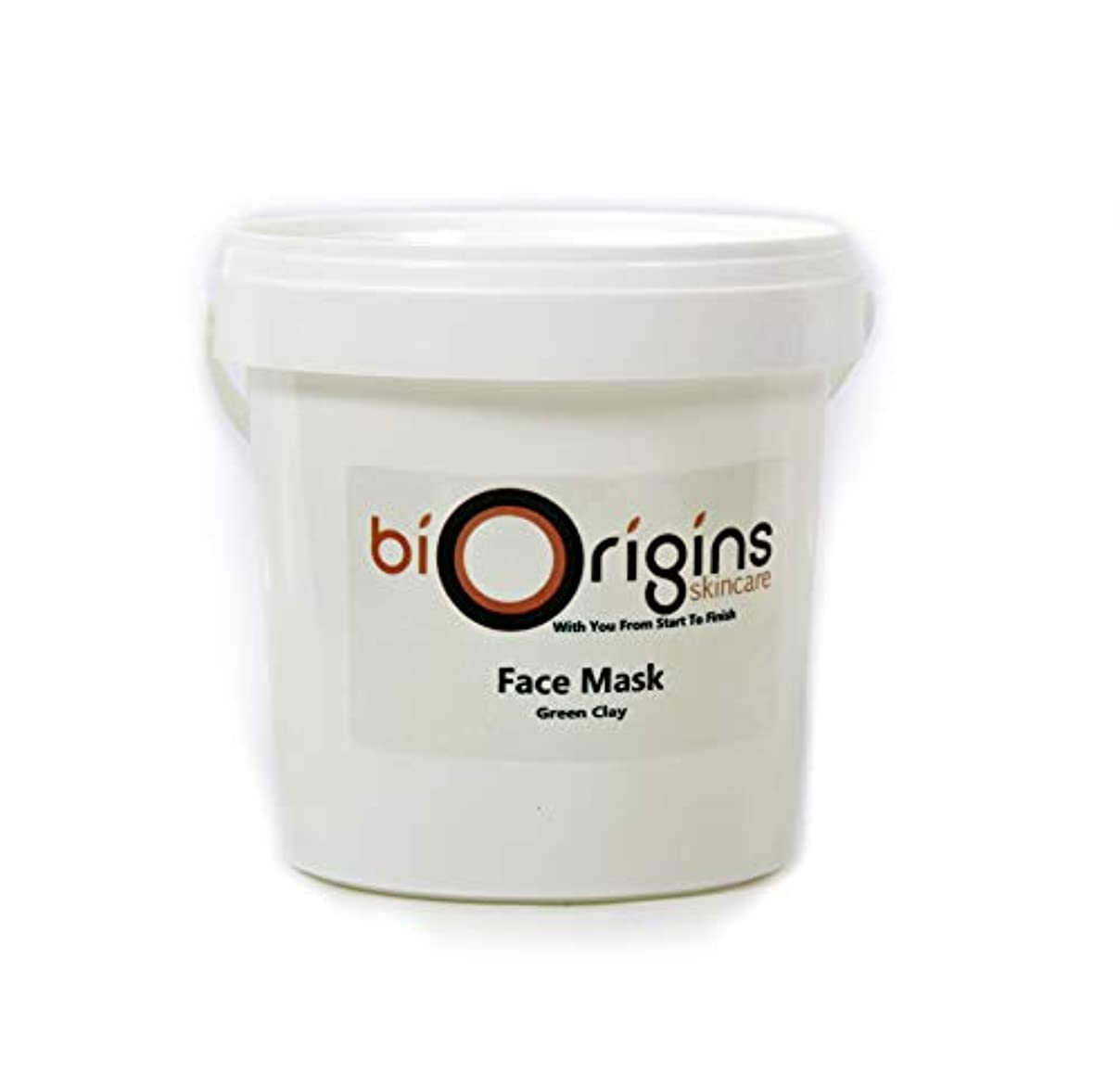 姪権威レイアウトFace Mask - Green Clay - Botanical Skincare Base - 1Kg