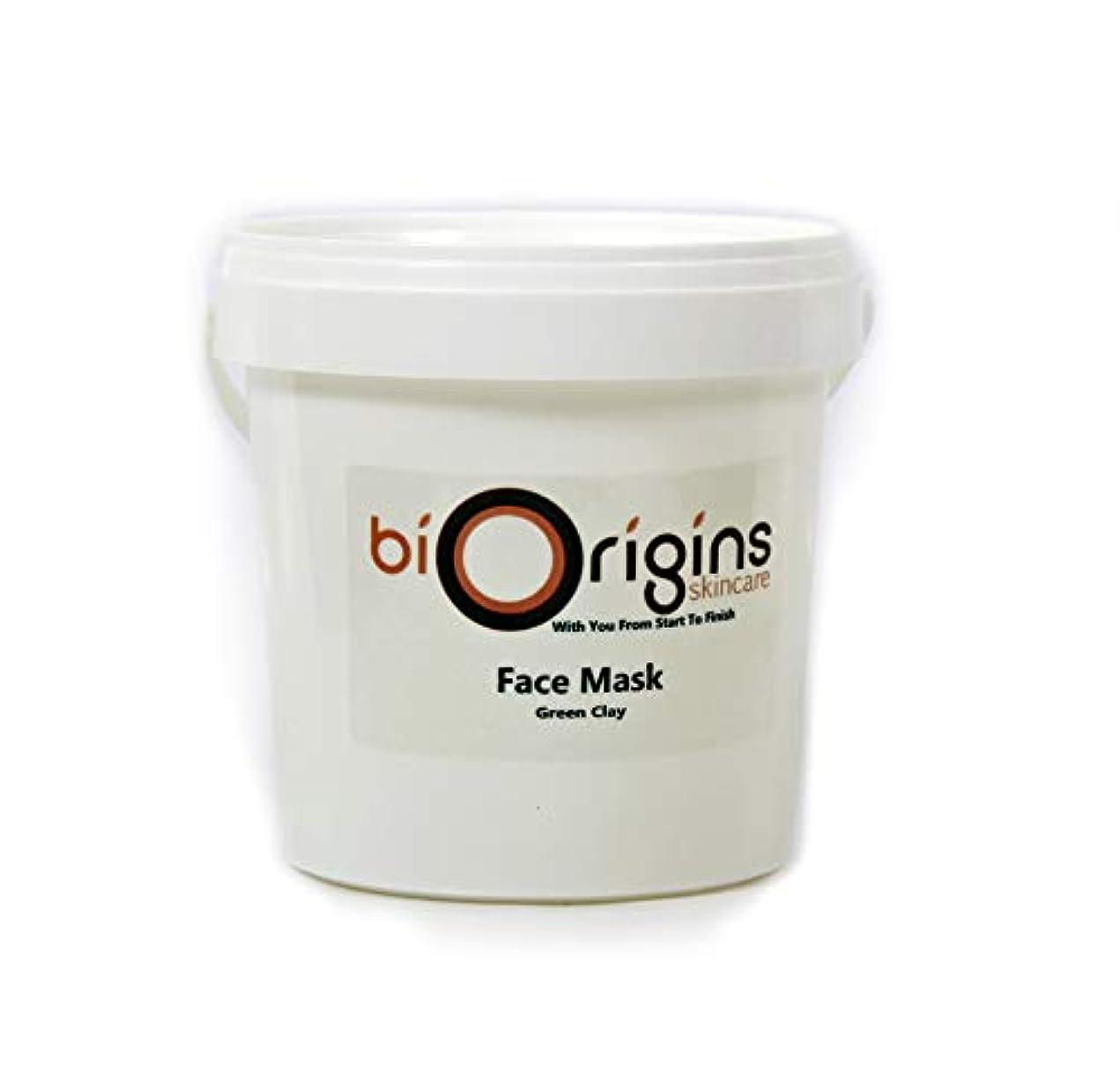 石炭両方テレビFace Mask - Green Clay - Botanical Skincare Base - 1Kg