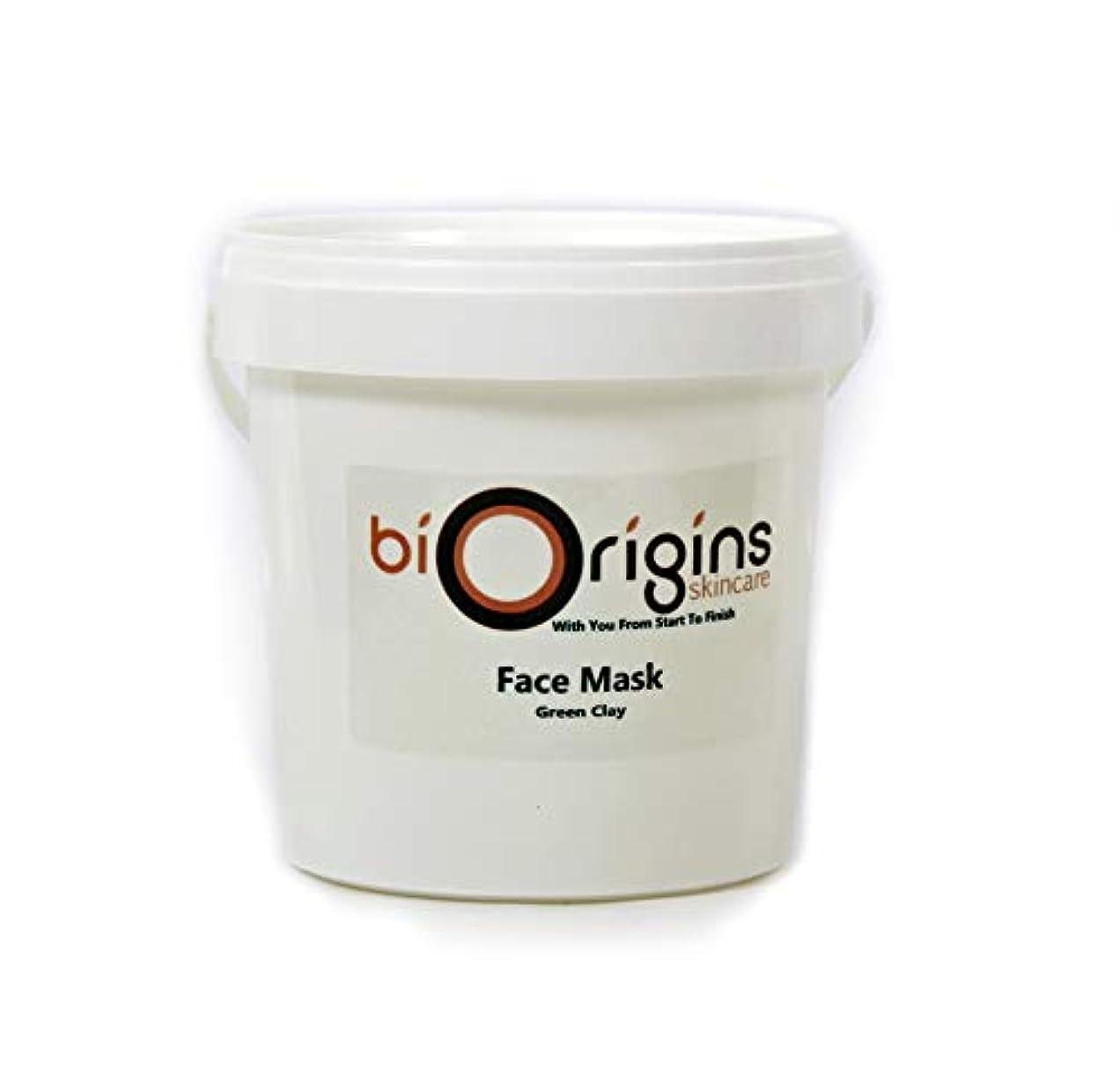 ビデオヒント抵当Face Mask - Green Clay - Botanical Skincare Base - 1Kg