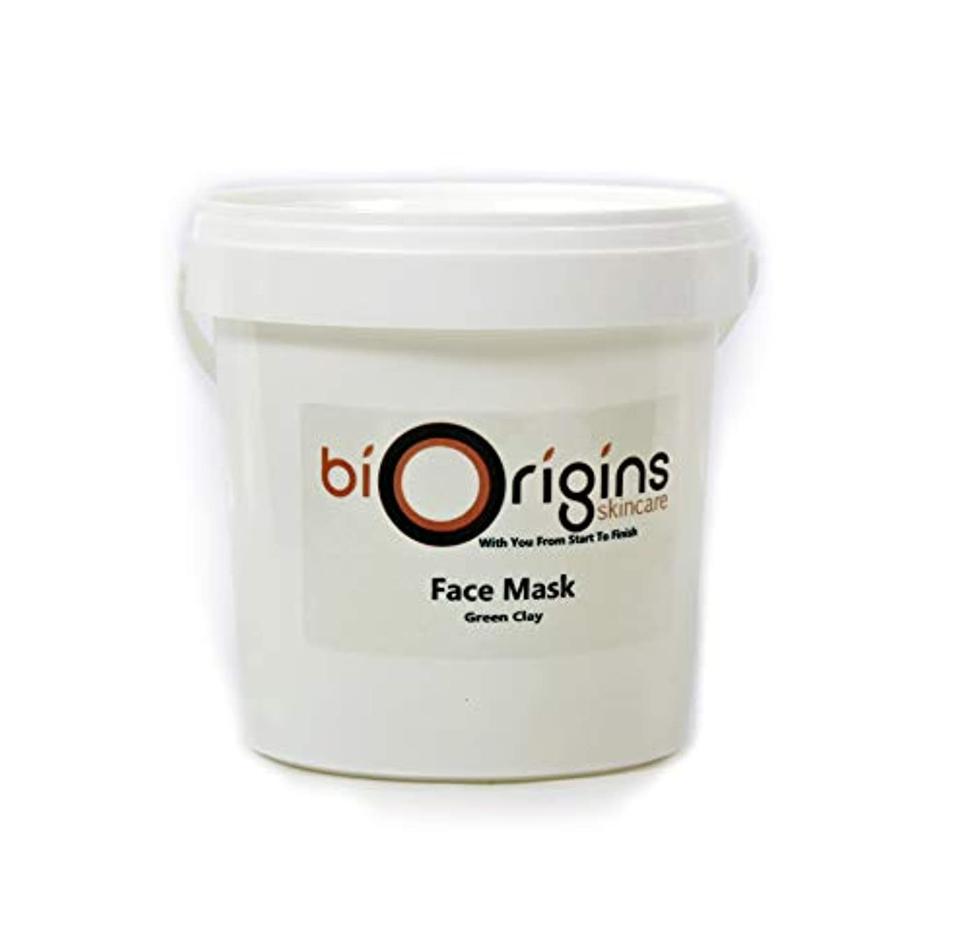 Face Mask - Green Clay - Botanical Skincare Base - 1Kg