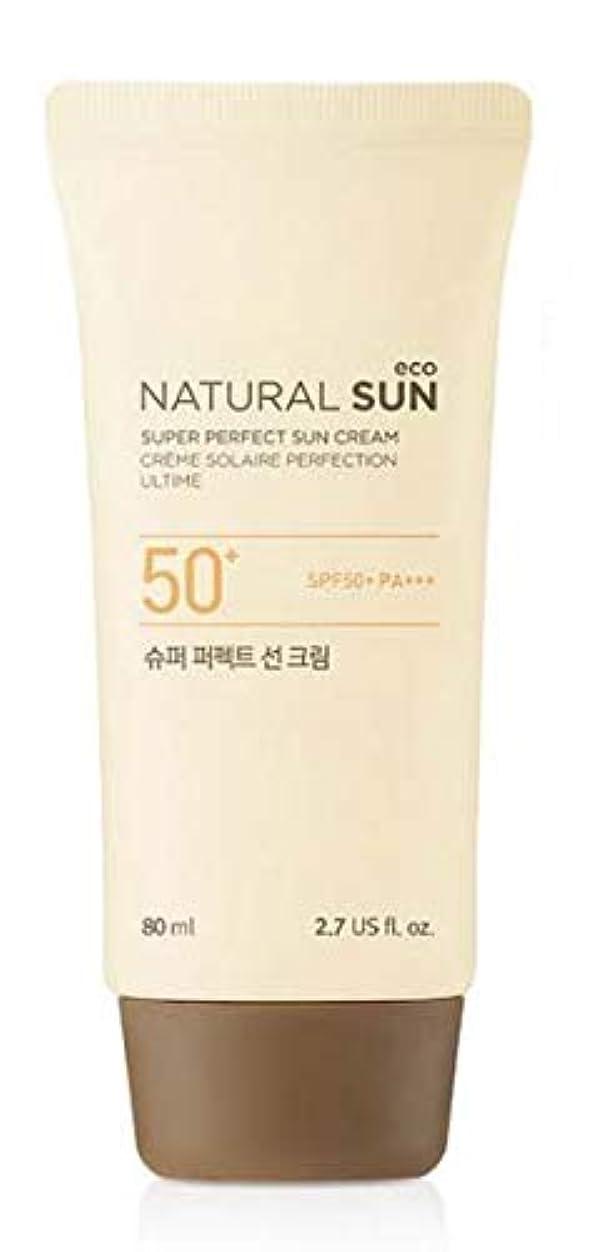 運動する呪い困惑[ザ?フェイスショップ] THE FACE SHOP [スーパー パーフェクト サンクリーム  80ml] (NSE Super Perfect Sun Cream SPF50+ PA+++ 80ml) [海外直送品]