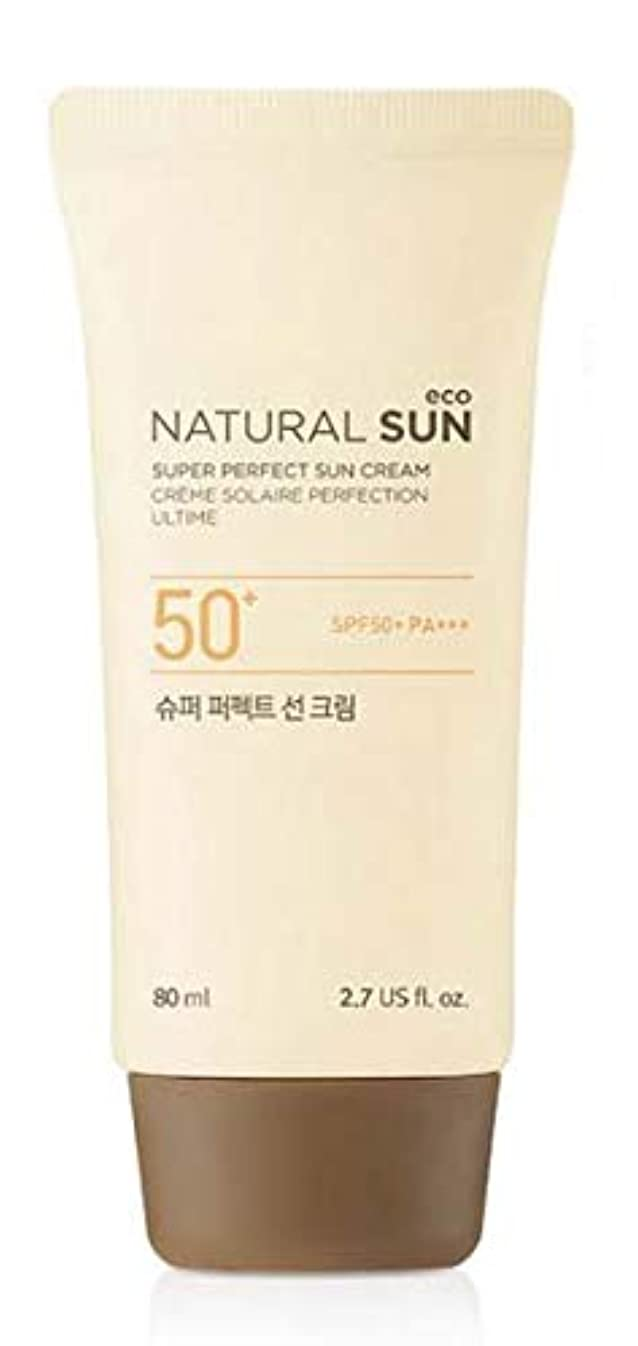 彫刻補充傾く[ザ?フェイスショップ] THE FACE SHOP [スーパー パーフェクト サンクリーム  80ml] (NSE Super Perfect Sun Cream SPF50+ PA+++ 80ml) [海外直送品]