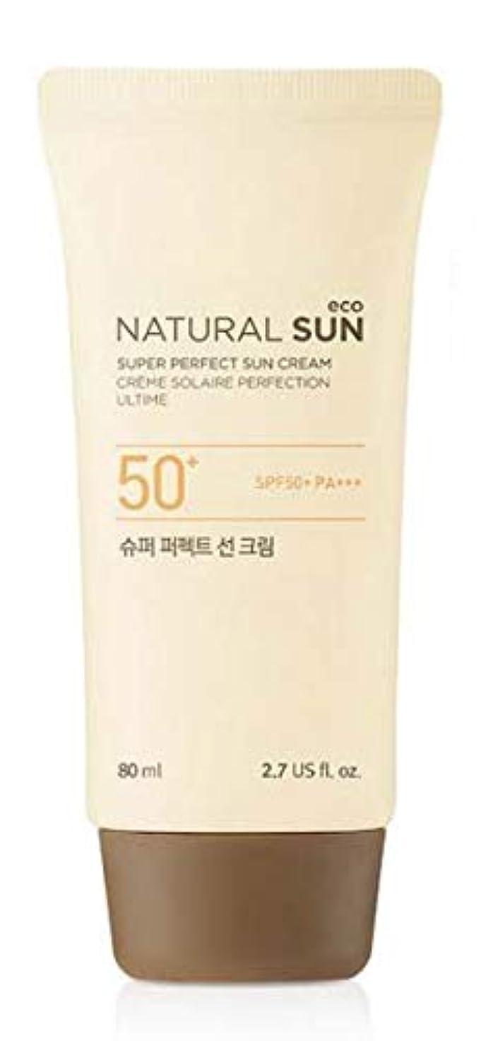 置換地殻力学[ザ?フェイスショップ] THE FACE SHOP [スーパー パーフェクト サンクリーム  80ml] (NSE Super Perfect Sun Cream SPF50+ PA+++ 80ml) [海外直送品]