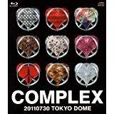 日本一心 20110730 TOKYO DOME 【Blu-ray+LIVE CD】COMPLEX ローソン完全受注限定予約商品/