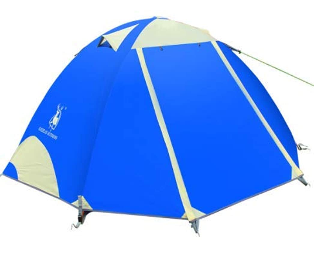 メロドラマティック役立つ経営者Sun-happyyaa 210×140×115CM大型屋外用キャンプテント防水日焼け止めサンシェードテント釣り/山/キャンプ/バックパック 購入へようこそ (Color : ブルー)