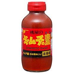 桃屋 キムチの素 お徳用 450g瓶×6本入×(2ケース)