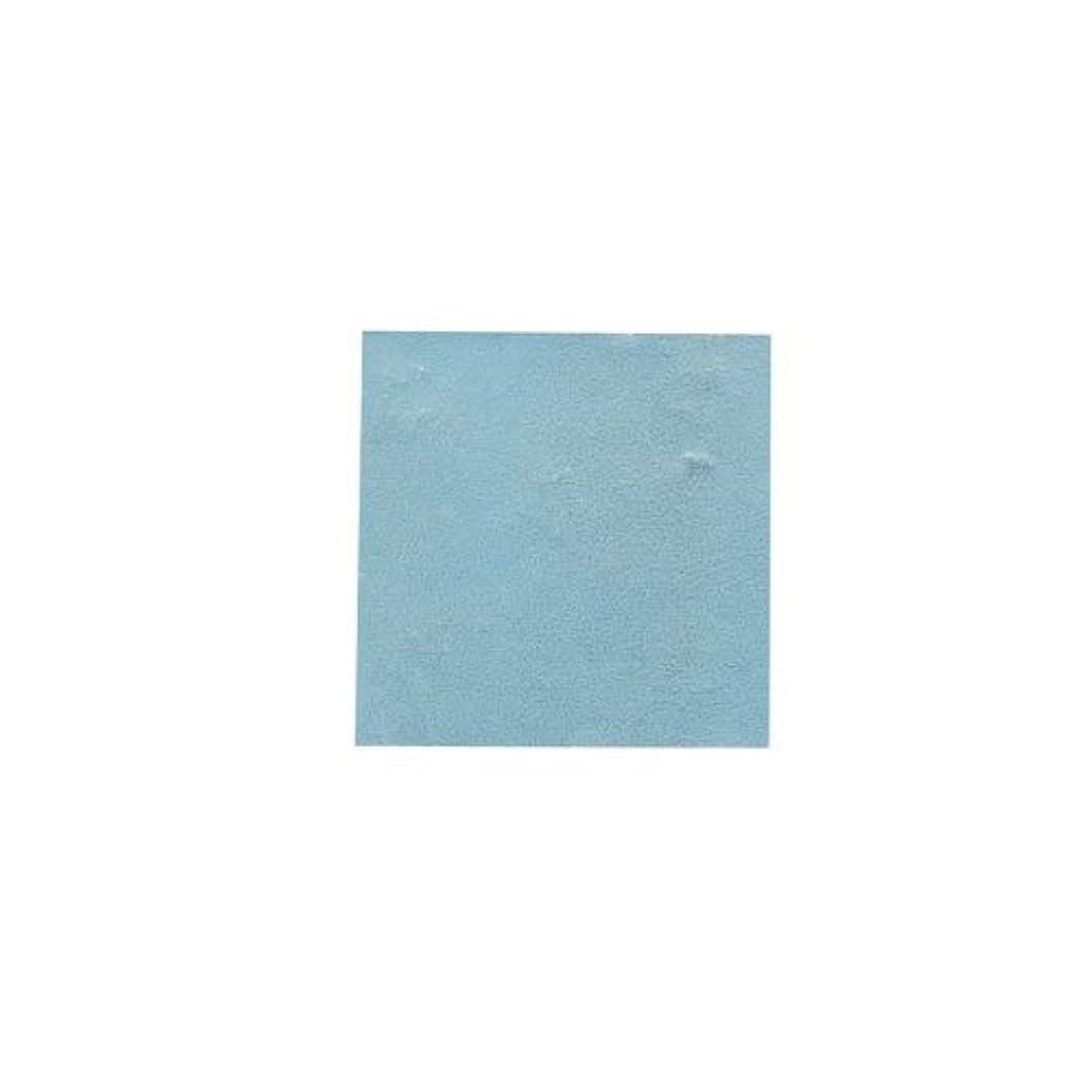 処方種ポジションピカエース ネイル用パウダー パステル銀箔 #647 パステルブルー 3.5㎜角×5枚