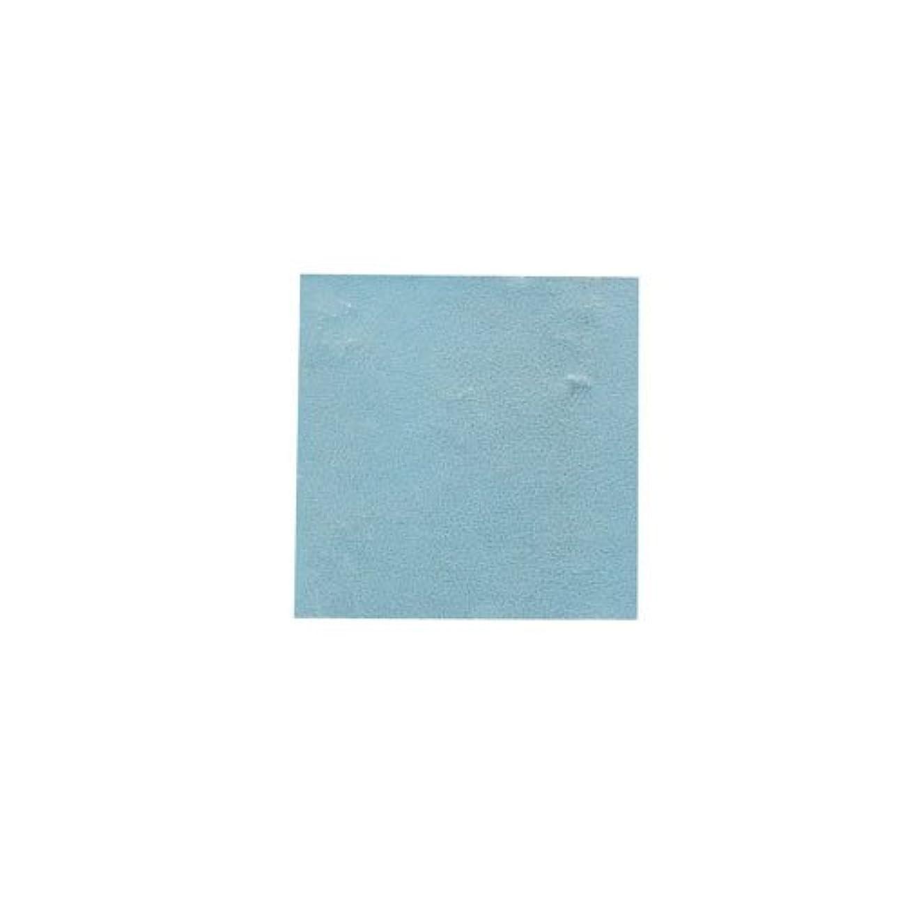 ルアー発明エスカレートピカエース ネイル用パウダー パステル銀箔 #647 パステルブルー 3.5㎜角×5枚