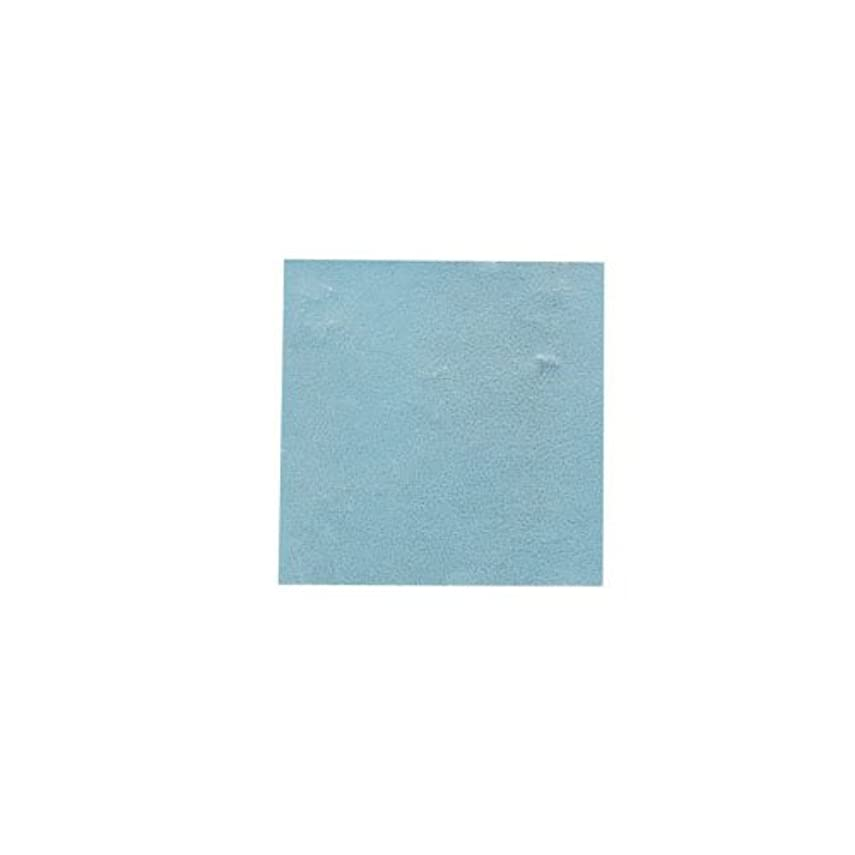 うぬぼれたオーバードロー他にピカエース ネイル用パウダー パステル銀箔 #647 パステルブルー 3.5㎜角×5枚