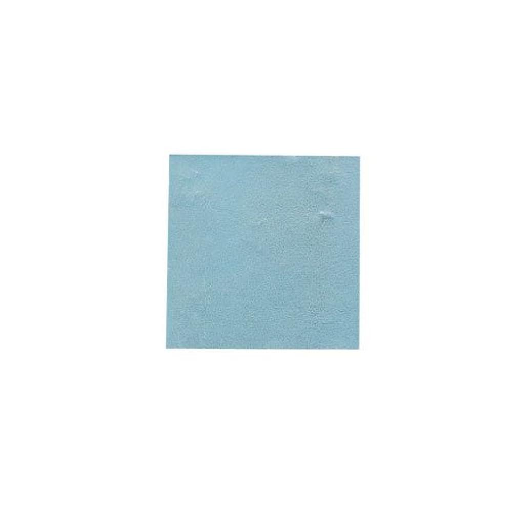 熟達刻む衰えるピカエース ネイル用パウダー パステル銀箔 #647 パステルブルー 3.5㎜角×5枚