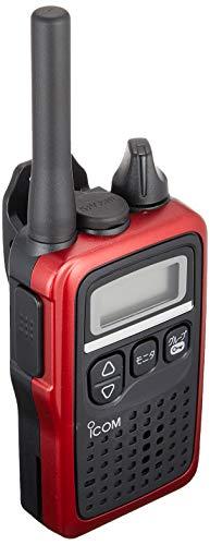 アイコム 特定小電力トランシーバー 47ch中継タイプ メタリックレッド IC-4300R