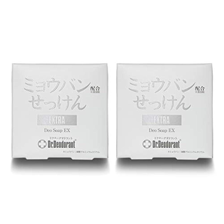 容疑者ブランド空ドクターデオドラント 薬用ミョウバンせっけんEX (2個セット)