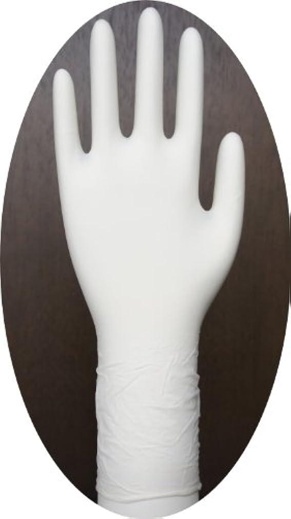 すぐにマチュピチュ砦三高サプライ ニトリル手袋 クラス100 クリアグリップ ロング(半透明) GN09 100枚入り L