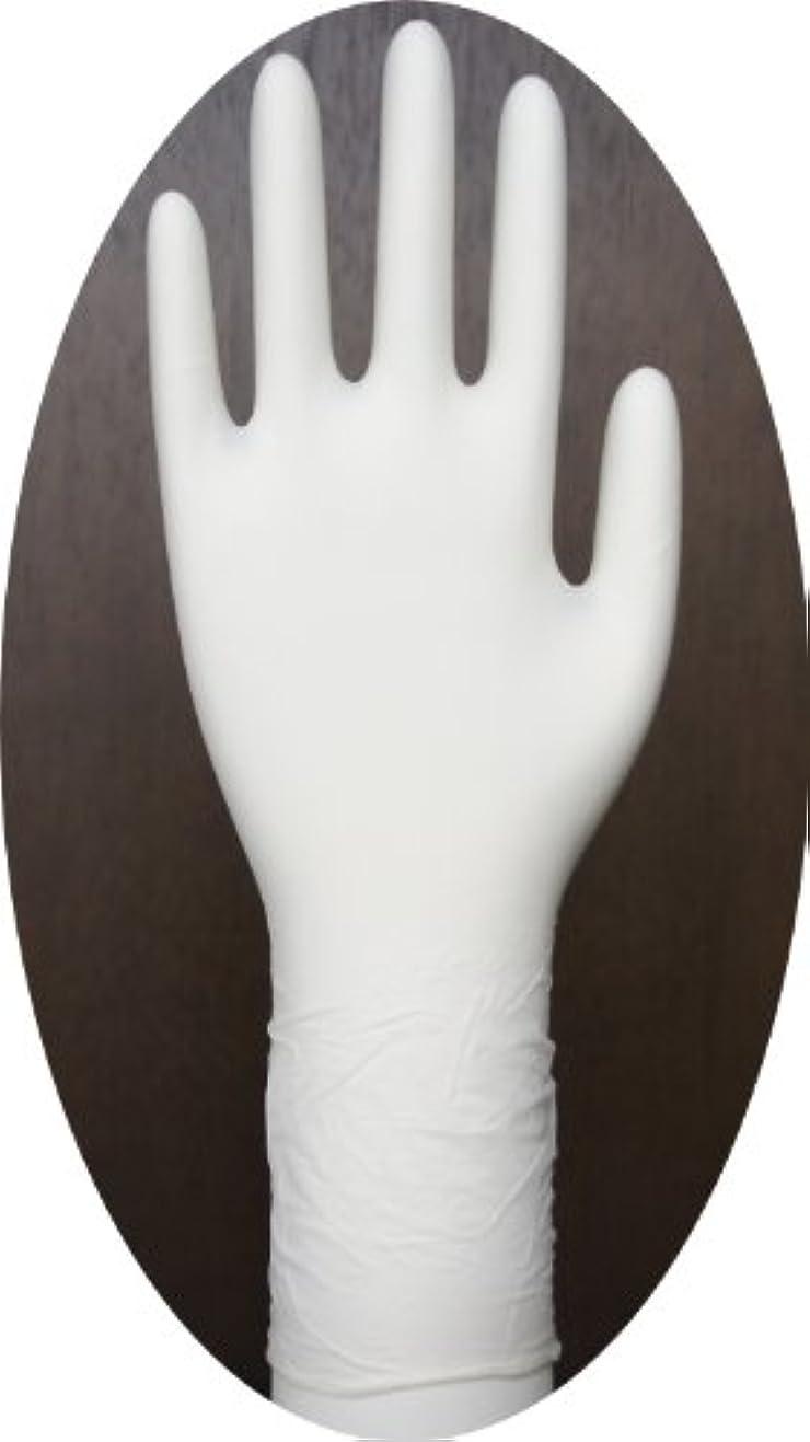 のぼろ識字三高サプライ ニトリル手袋 クラス100 クリアグリップ ロング(半透明) GN09 100枚入り L