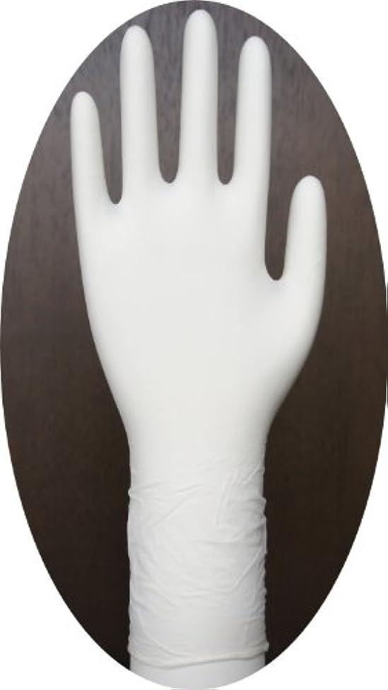 少し記録道三高サプライ ニトリル手袋 クラス100 クリアグリップ ロング(半透明) GN09 100枚入り L