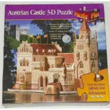 AUSTRIAN CASTLE - 550+ Piece 3-D Puzzle (Advanced Level)
