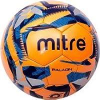 Mitre Paladinオレンジwith迷彩グレーサッカーボール、Deflateブルー、サイズ5