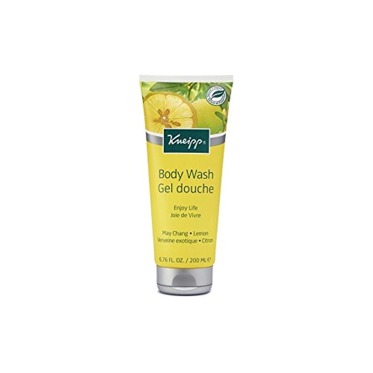 飼料理想的安価なKneipp Enjoy Life Body Wash (200ml) - クナイプは、生命のボディウォッシュ(200ミリリットル)を楽しみます [並行輸入品]