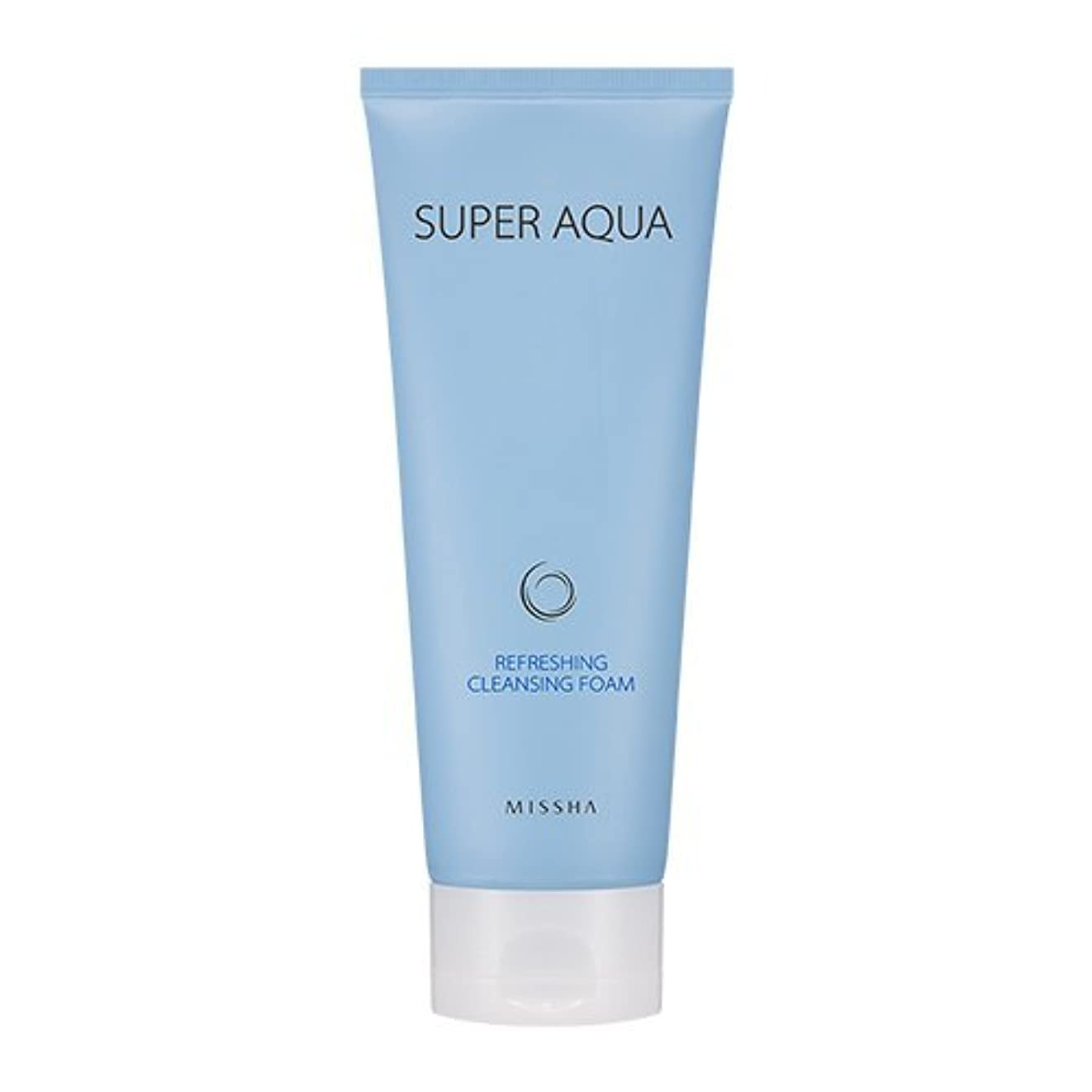 要塞追い付く熱Missha Super Aqua Refreshing Cleansing Foam 6.76oz/200ml
