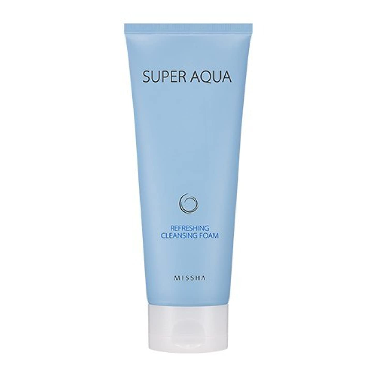 去る改修する破産Missha Super Aqua Refreshing Cleansing Foam 6.76oz/200ml