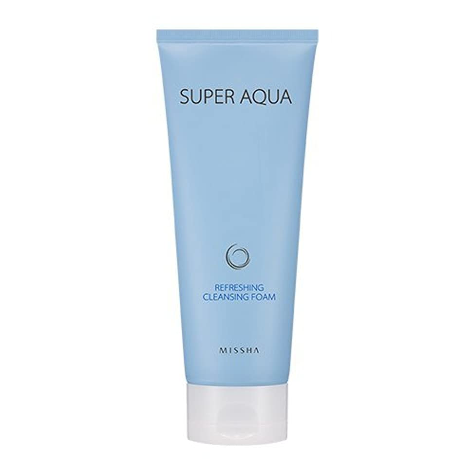 予測する王朝ダイバーMissha Super Aqua Refreshing Cleansing Foam 6.76oz/200ml