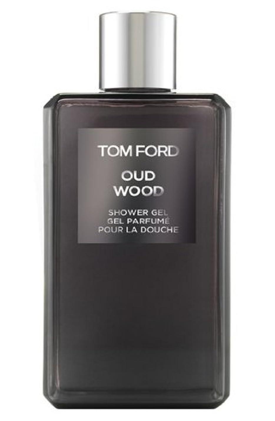 カブルーキー転送Tom Ford Private Blend 'Oud Wood' (トムフォード プライベートブレンド オードウッド) 8.45 oz (254ml) Shower Gel