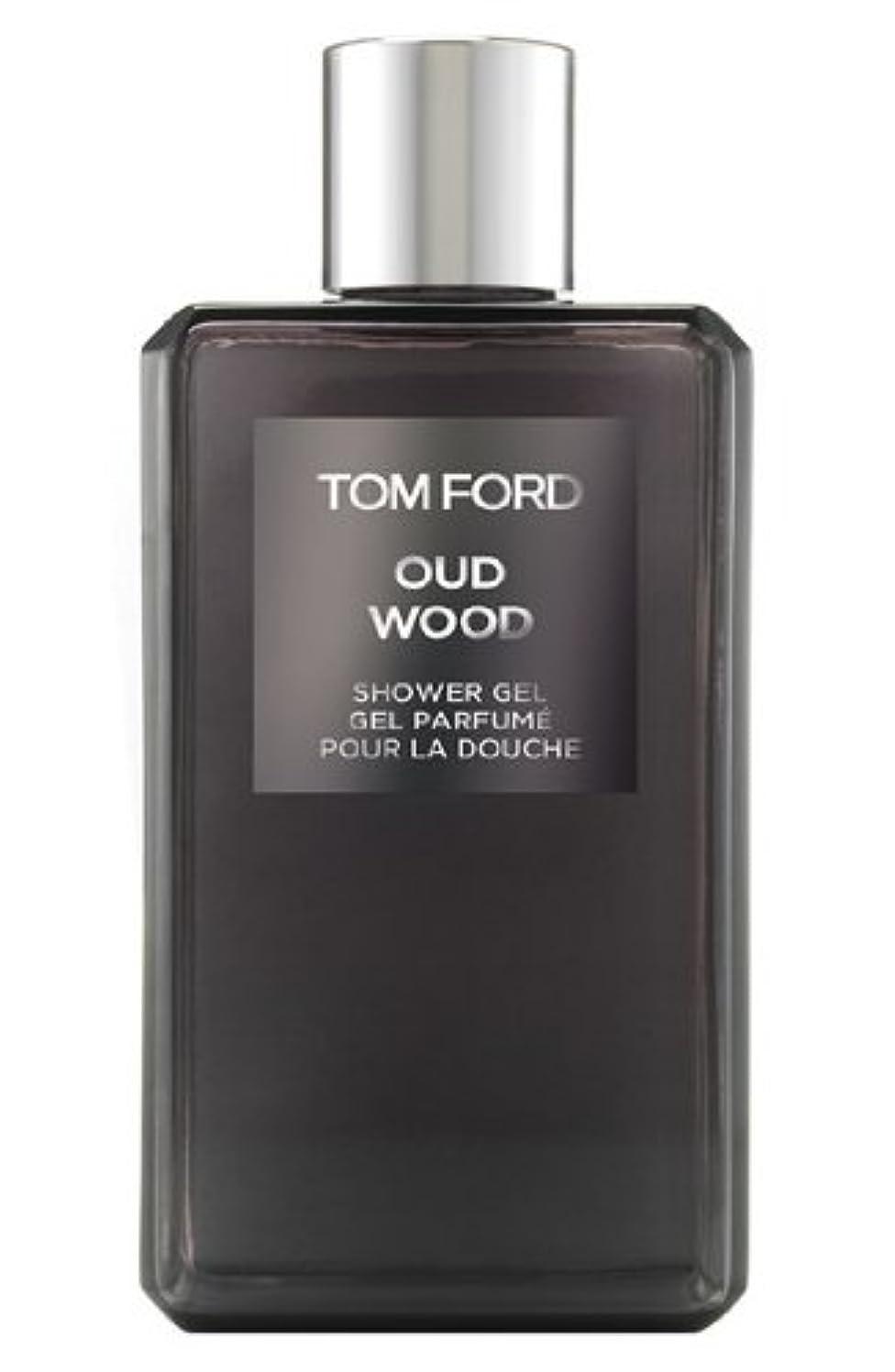 である臨検封筒Tom Ford Private Blend 'Oud Wood' (トムフォード プライベートブレンド オードウッド) 8.45 oz (254ml) Shower Gel