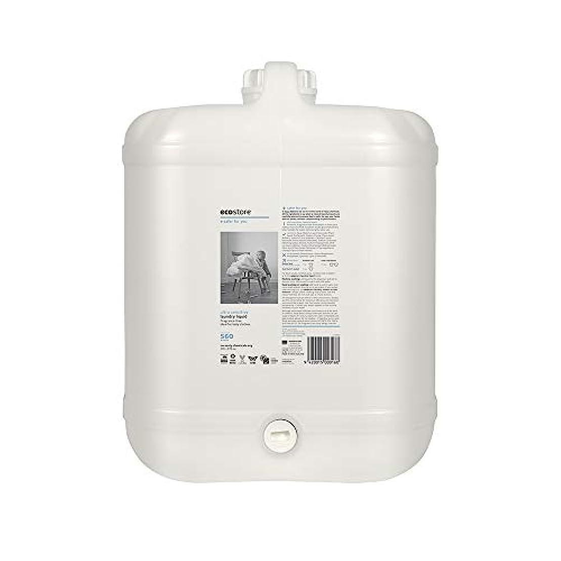 会計うまくいけば睡眠ecostore(エコストア) ランドリーリキッド <無香料> バルク 20L